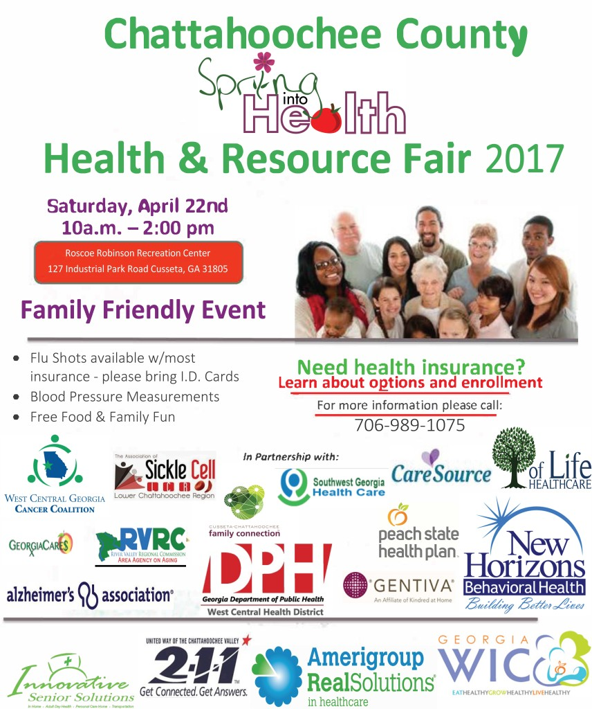 Chattahoochee County Health & Resource Fair